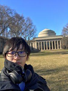 A photo of Xiaowei Ou